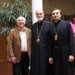 2012 Три директори ІІЦ: д-р Олег Турій, єп. Борис Гудзяк, о.Андрій Михалейко